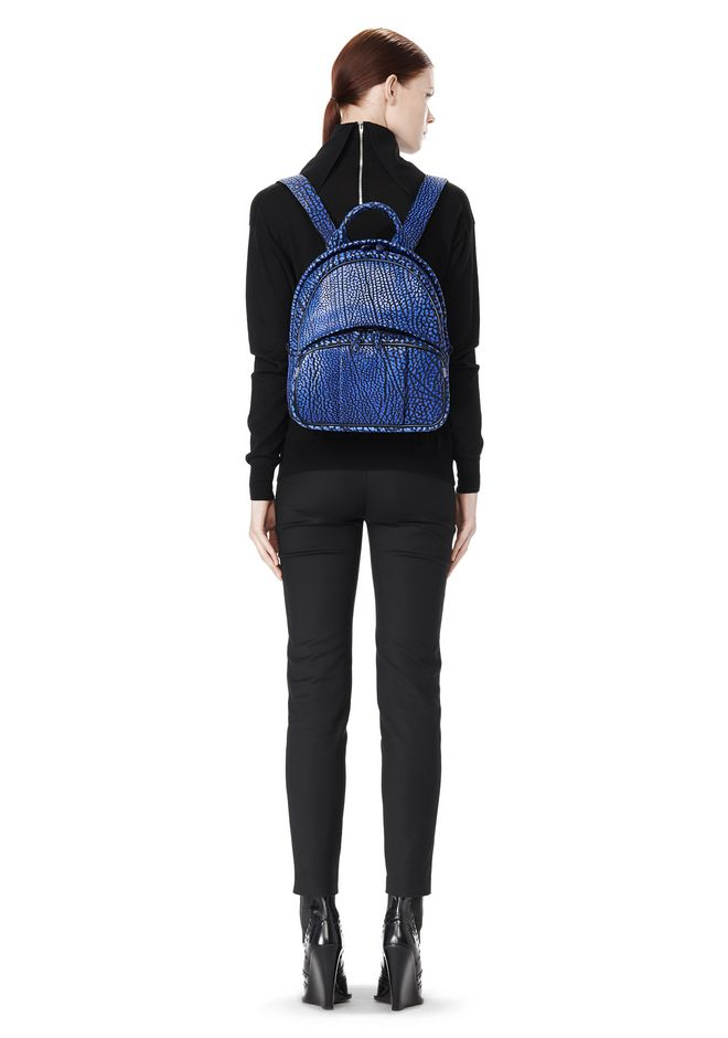 ALEXANDER WANG DUMBO BACKPACK IN CONTRAST TIP NILE BACKPACK Adult 12_n_r