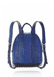 ALEXANDER WANG DUMBO BACKPACK IN CONTRAST TIP NILE BACKPACK Adult 8_n_d