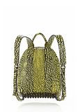 ALEXANDER WANG DUMBO BACKPACK IN CONTRAST TIP CITRON BACKPACK Adult 8_n_d