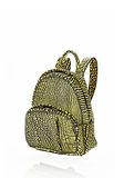 ALEXANDER WANG DUMBO BACKPACK IN CONTRAST TIP CITRON BACKPACK Adult 8_n_e