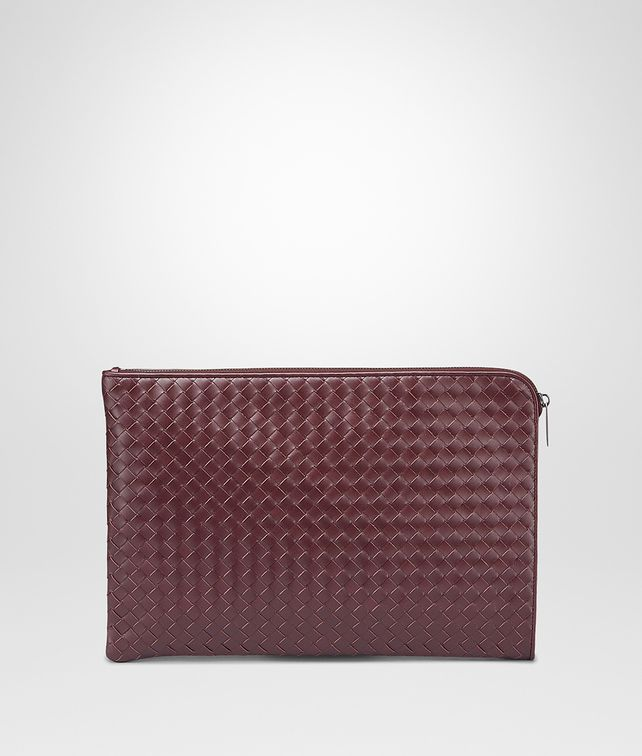 BOTTEGA VENETA Aubergine Intrecciato VN Document Case Small bag U fp