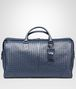 BOTTEGA VENETA LARGE DUFFEL BAG IN LIGHT TOURMALINE INTRECCIATO VN Luggage E fp