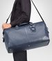 BOTTEGA VENETA LARGE DUFFEL BAG IN LIGHT TOURMALINE INTRECCIATO VN Luggage E lp
