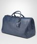 BOTTEGA VENETA LARGE DUFFEL BAG IN LIGHT TOURMALINE INTRECCIATO VN Luggage E rp