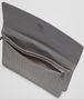 BOTTEGA VENETA Medium Grey Intrecciato Vachette Document Case Small bag U dp