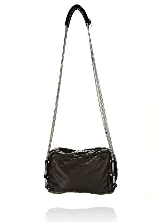 ALEXANDER WANG BRENDA CHAIN IN WASHED BLACK  WITH RHODIUM Shoulder bag Adult 12_n_e