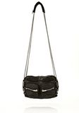 ALEXANDER WANG BRENDA CHAIN IN WASHED BLACK  WITH RHODIUM Shoulder bag Adult 8_n_f