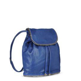 Blue Falabella Shaggy Deer Backpack