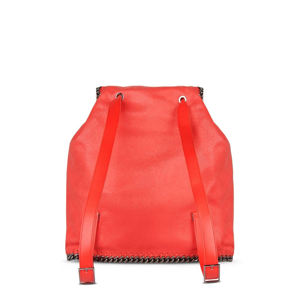 Flame Falabella Shaggy Deer Backpack  - STELLA MCCARTNEY
