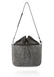 ALEXANDER WANG EXCLUSIVE DISTRESSED FLAT BUCKET BAG IN EROSION  Shoulder bag Adult 8_n_f