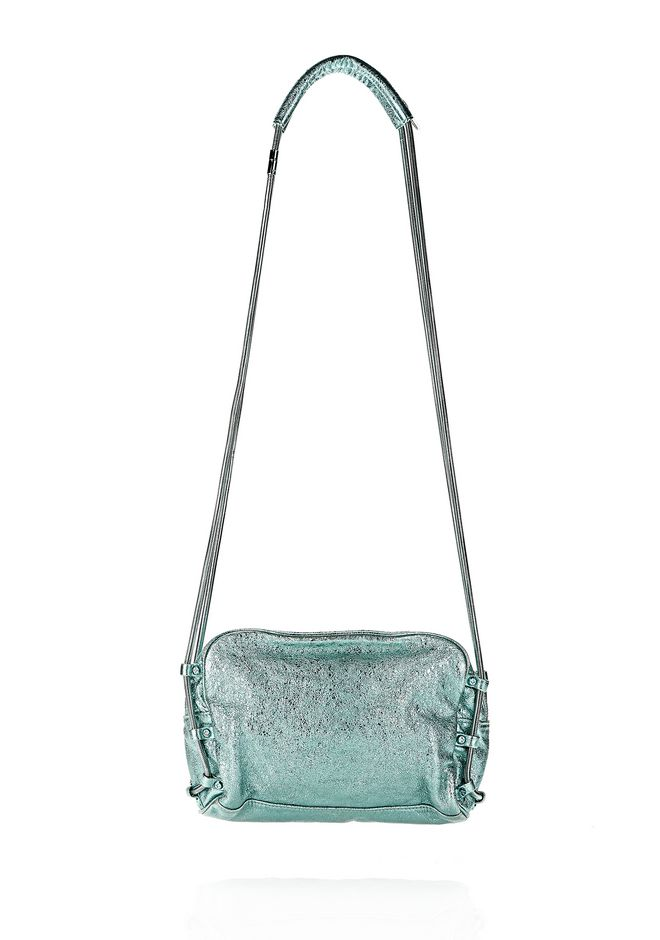 ALEXANDER WANG BRENDA CHAIN FOIL IN ZINC Shoulder bag Adult 12_n_r