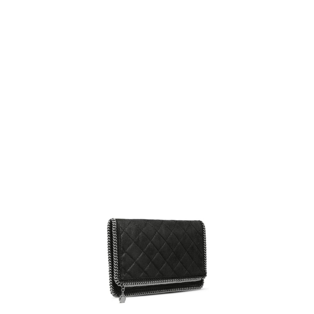 Falabella Quilted Fold Over Clutch - STELLA MCCARTNEY