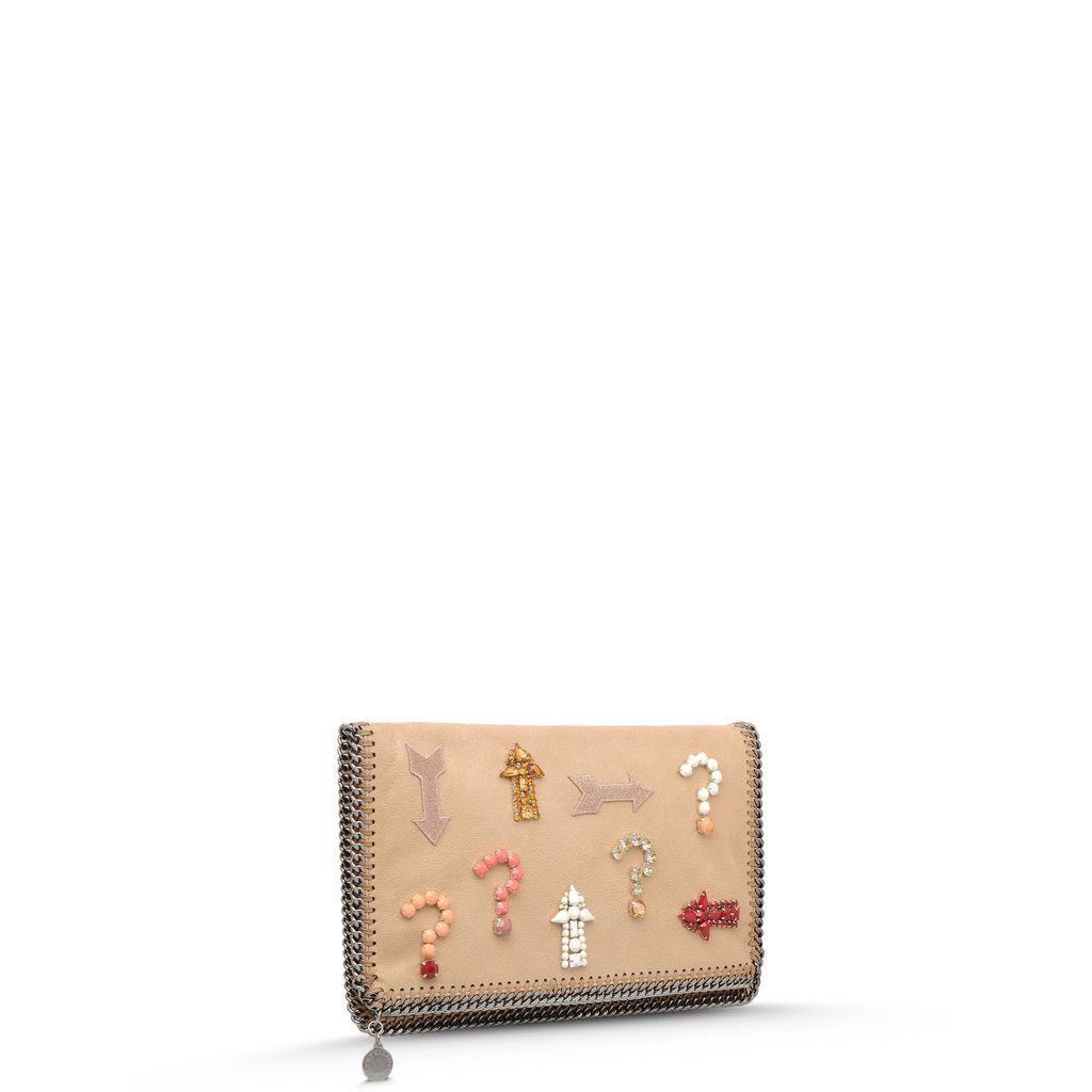 Falabella Embroidery Clutch - STELLA MCCARTNEY