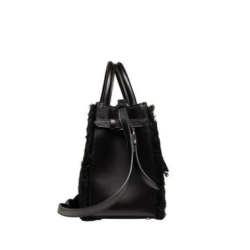 BALENCIAGA Top handle bag D Balenciaga Padlock Nude Work XS Merino Sheep f