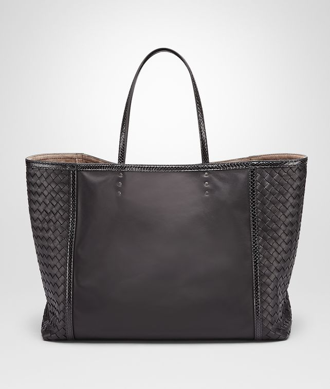 BOTTEGA VENETA TOTE BAG IN NERO NAPPA, AYERS DETAILS Tote Bag D fp