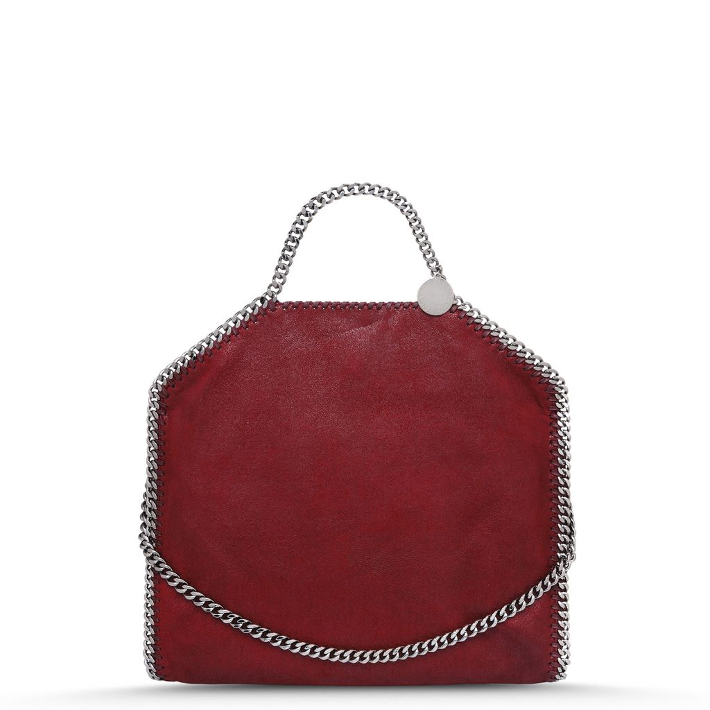Ruby Falabella Shaggy Deer fold Over Tote - STELLA MCCARTNEY
