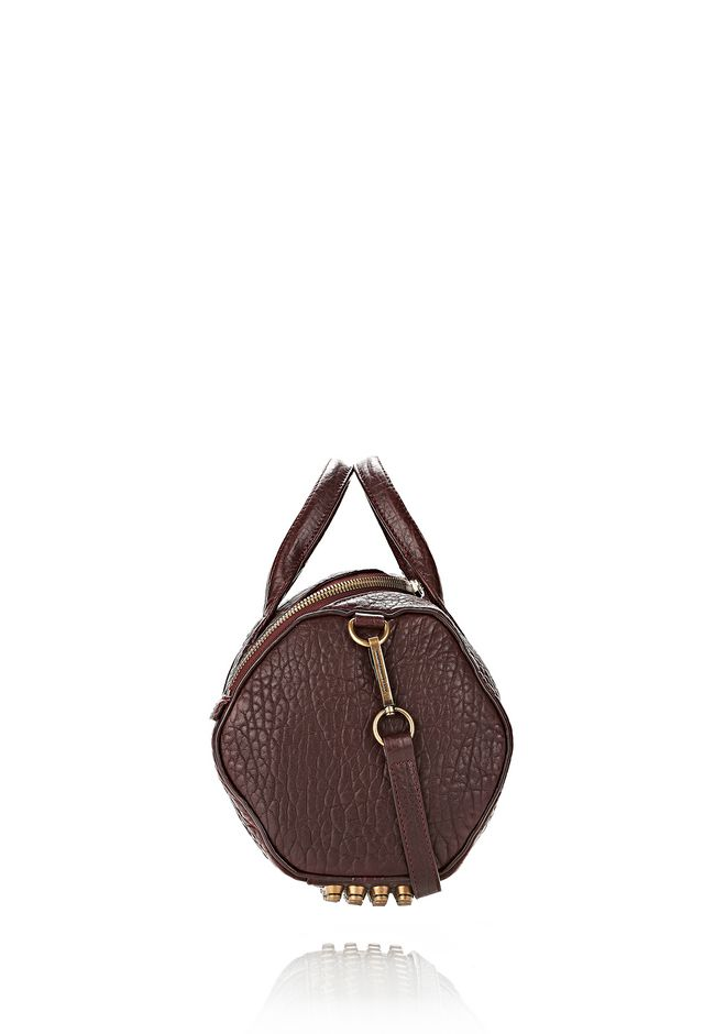 ALEXANDER WANG ROCKIE SLING IN BEET WITH ANTIQUE BRASS Shoulder bag Adult 12_n_e