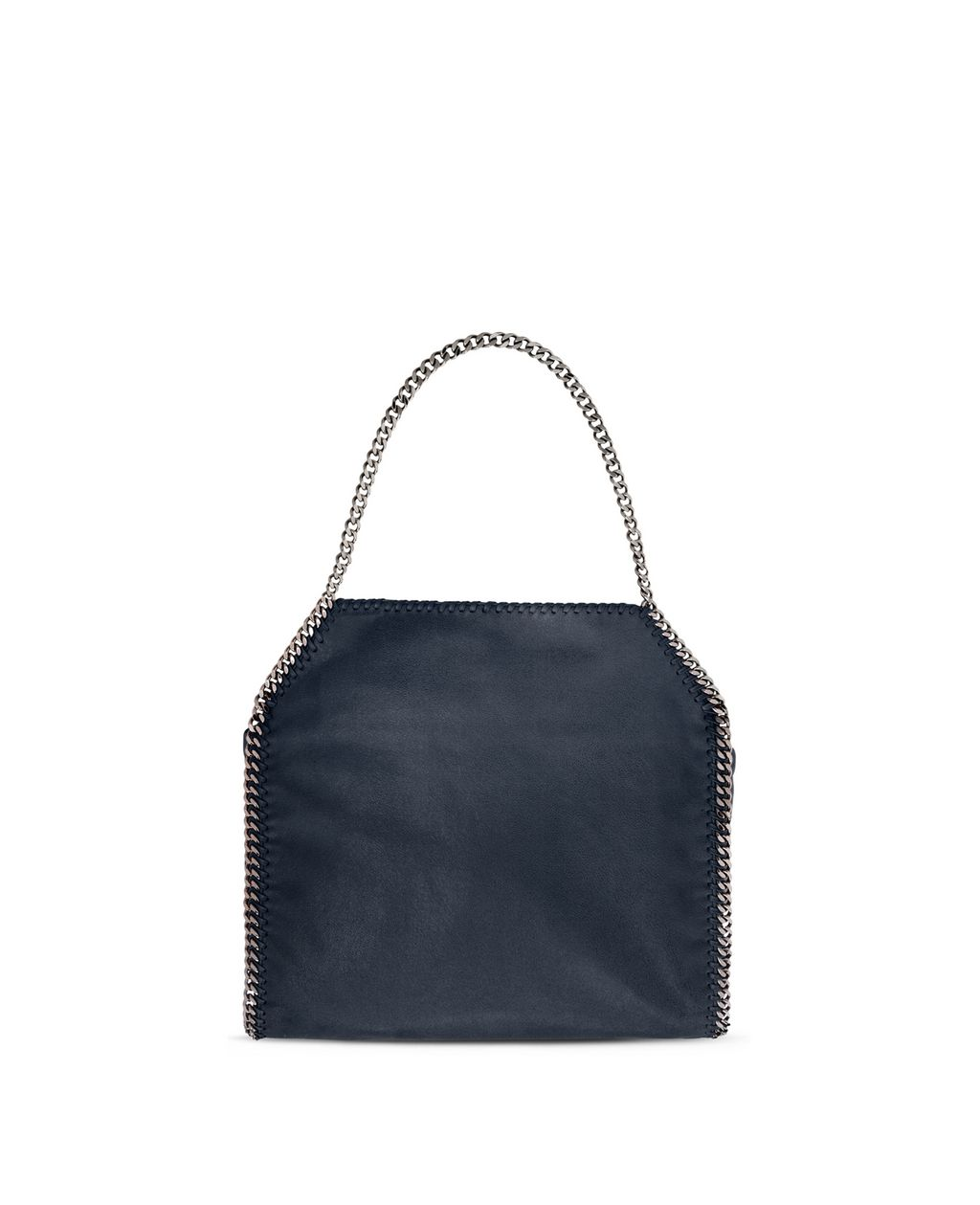Navy Falabella Shaggy Deer Small Tote - STELLA MCCARTNEY