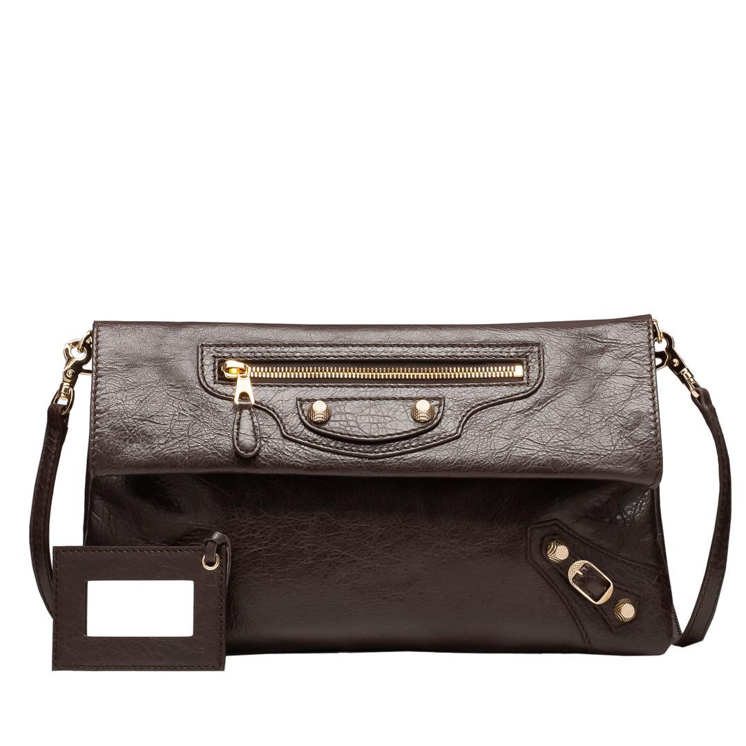 BALENCIAGA Balenciaga Giant 12 Gold Envelope Strap Giant Envelope Handbag D f