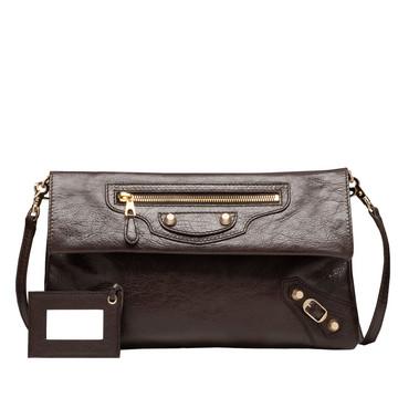 BALENCIAGA Giant Envelope Handbag D Balenciaga Giant 12 Gold Envelope Strap f