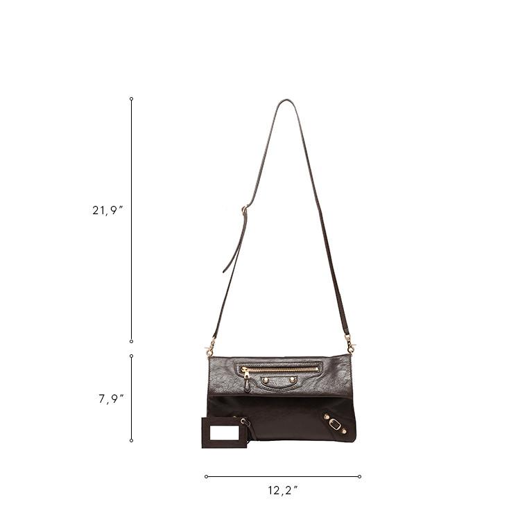 BALENCIAGA Giant Envelope Handbag D Balenciaga Giant 12 Gold Envelope Strap n