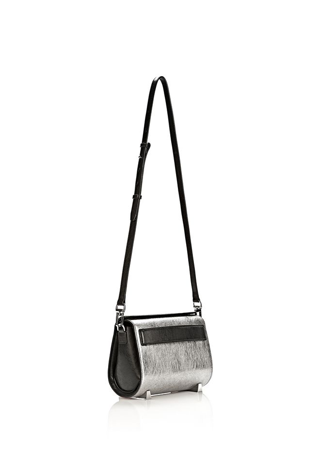 ALEXANDER WANG CHASTITY MINI SLING IN SILVER WITH RHODIUM Shoulder bag Adult 12_n_e