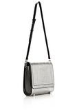 ALEXANDER WANG CHASTITY MESSENGER IN SILVER WITH RHODIUM Shoulder bag Adult 8_n_e