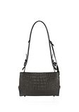 ALEXANDER WANG PELICAN SLING IN EMBOSSED MATTE BLACK WITH MATTE BLACK Shoulder bag Adult 8_n_d