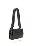ALEXANDER WANG PELICAN SLING IN EMBOSSED MATTE BLACK WITH MATTE BLACK Shoulder bag Adult 8_n_e