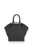 ALEXANDER WANG PRISMA EMILE TOTE IN BLACK AND WHITE NEOPRENE TOTE Adult 8_n_a