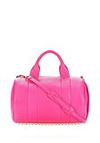 ALEXANDER WANG ROCCO IN FLAMINGO WITH PALE GOLD Shoulder bag Adult 8_n_f