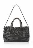 ALEXANDER WANG WALLIE DUFFLE IN WAXY BLACK WITH MATTE BLACK Travel Adult 8_n_a