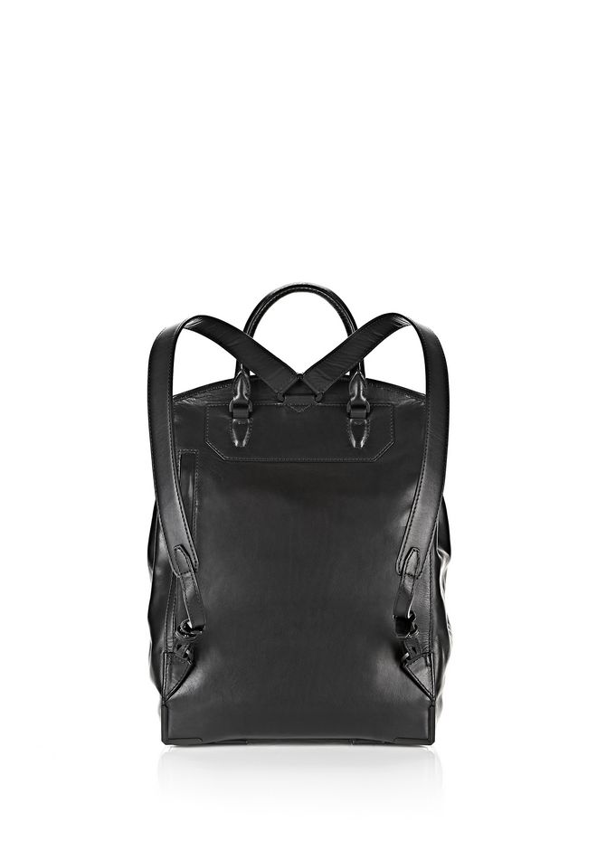 ALEXANDER WANG PRISMA SKELETAL BACKPACK IN BLACK WITH MATTE BLACK BACKPACK Adult 12_n_e