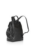 ALEXANDER WANG PRISMA SKELETAL BACKPACK IN BLACK WITH MATTE BLACK BACKPACK Adult 8_n_d