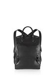 ALEXANDER WANG PRISMA SKELETAL BACKPACK IN BLACK WITH MATTE BLACK BACKPACK Adult 8_n_e