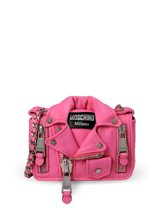 Small leather bag Woman MOSCHINO