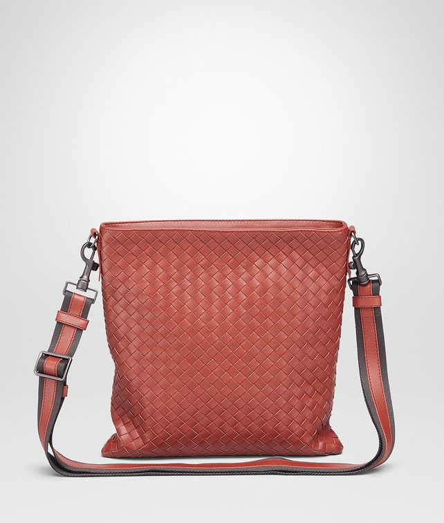 7a4720192368 BOTTEGA VENETA Burnt Red Intrecciato Vn Cross Body Messenger Messenger Bag       pickupInStoreShippingNotGuaranteed info
