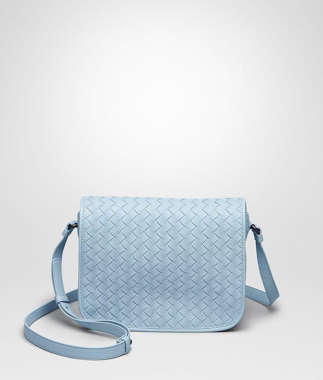 20bd4908c4ad BOTTEGA VENETA Ciel Intrecciato Nappa Messenger Bag Crossbody and Belt Bags       pickupInStoreShipping info