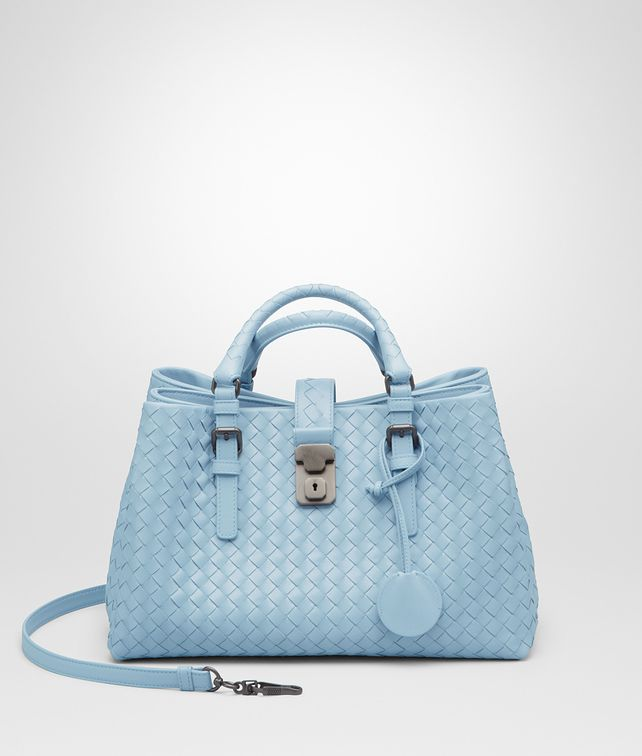 BOTTEGA VENETA Ciel Intrecciato Light Calf Roma Bag Top Handle Bag       pickupInStoreShipping info 8dece33f0dbe5
