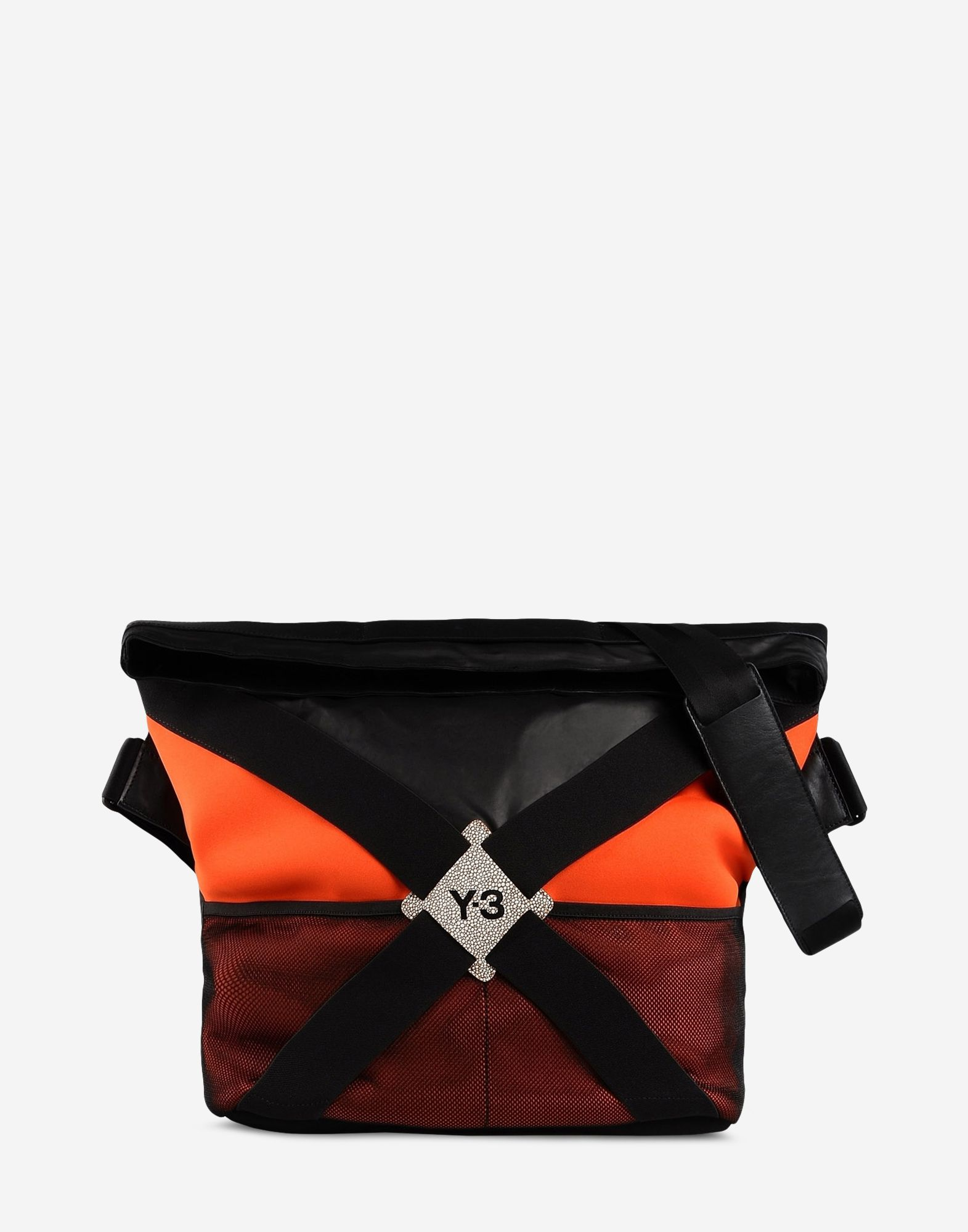 6368691e3f ... Y-3 Y-3 FS Messenger Bag Large fabric bag E f ...