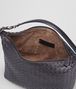 BOTTEGA VENETA SMALL SHOULDER BAG IN TOURMALINE INTRECCIATO NAPPA Shoulder or hobo bag D dp