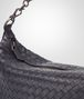 BOTTEGA VENETA SMALL SHOULDER BAG IN TOURMALINE INTRECCIATO NAPPA Shoulder or hobo bag D ep