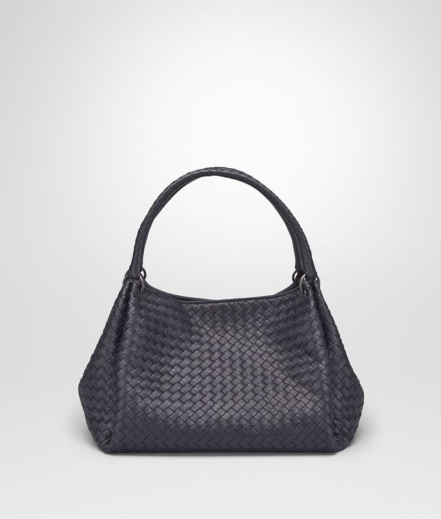 BOTTEGA VENETA PARACHUTE BAG IN TOURMALINE INTRECCIATO NAPPA Shoulder or hobo bag D fp