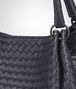 BOTTEGA VENETA PARACHUTE BAG IN TOURMALINE INTRECCIATO NAPPA Shoulder Bag Woman ep