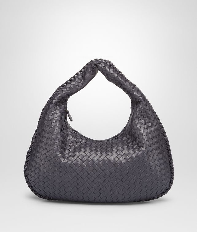BOTTEGA VENETA MEDIUM VENETA BAG IN TOURMALINE INTRECCIATO NAPPA Hobo Bag Woman fp