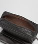 BOTTEGA VENETA MESSENGER BAG IN NERO INTRECCIATO NAPPA Crossbody bag D lp