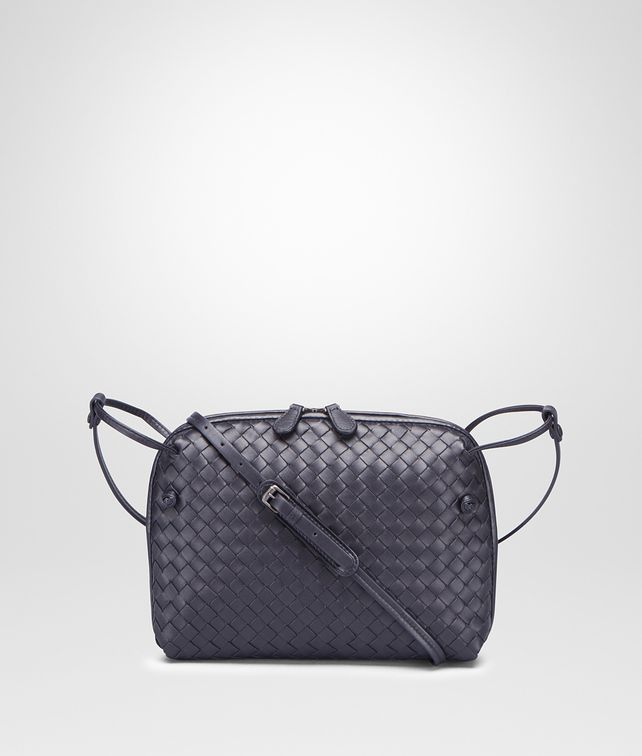 BOTTEGA VENETA TOURMALINE INTRECCIATO NAPPA LEATHER NODINI BAG Crossbody bag [*** pickupInStoreShipping_info ***] fp
