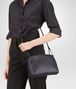 BOTTEGA VENETA TOURMALINE INTRECCIATO NAPPA LEATHER NODINI BAG Crossbody bag D ap