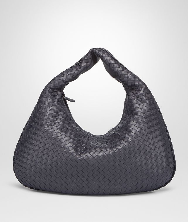 BOTTEGA VENETA TOURMALINE INTRECCIATO NAPPA LARGE VENETA BAG Shoulder or hobo bag D fp