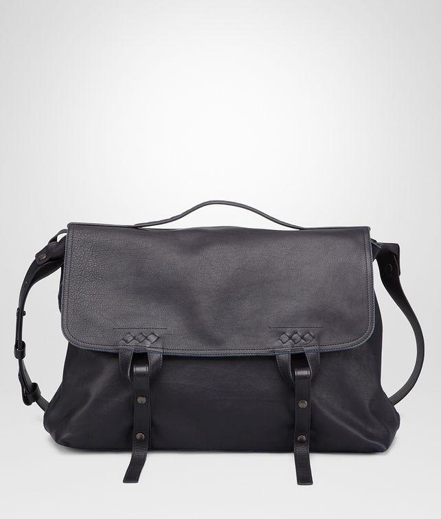930914d70f96 BOTTEGA VENETA Dark Navy Sporty Washed Vintage Cross Body Messenger  Messenger Bag